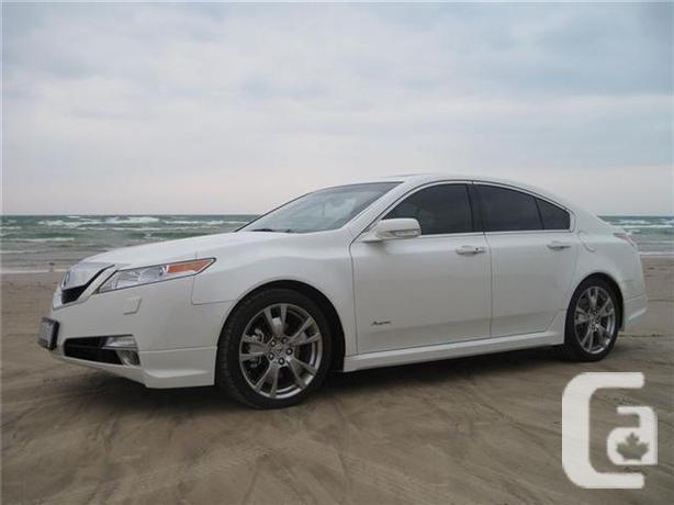 2010 acura tl sh awd tech package for sale in burlington. Black Bedroom Furniture Sets. Home Design Ideas