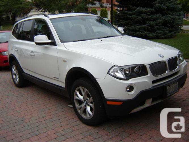 2010 BMW X3 One Owner, 57-kms, Trade for 3 or 5 Series