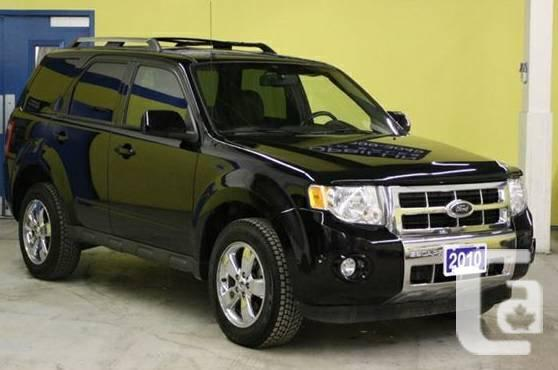 2010 Ford Escape Ltd SUV: LOW KM, Leather, Sunroof, AWD