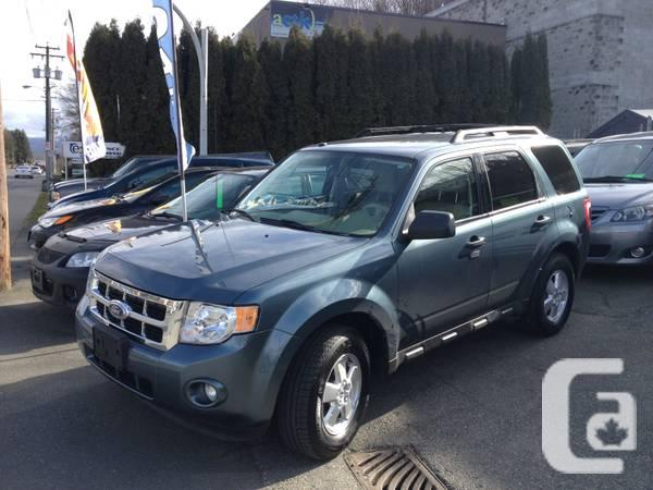 2010 ford escape xlt awd in abbotsford british columbia for sale. Black Bedroom Furniture Sets. Home Design Ideas