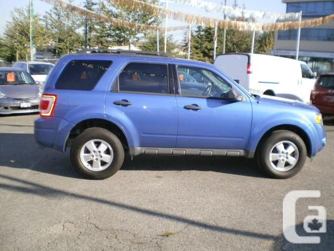 2010 ford escape xlt v6 awd for sale in delta british. Black Bedroom Furniture Sets. Home Design Ideas