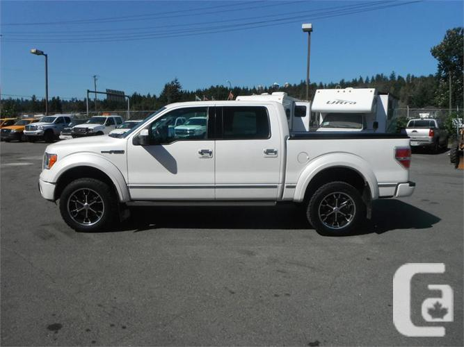 2010 ford f 150 platinum supercrew 5 5 ft box 4wd for sale in salmo british columbia. Black Bedroom Furniture Sets. Home Design Ideas