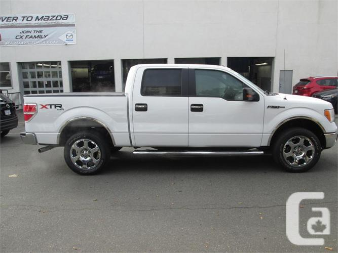 2010 ford f 150 xtr 4x4 crew cab for sale in victoria british columbia classifieds. Black Bedroom Furniture Sets. Home Design Ideas
