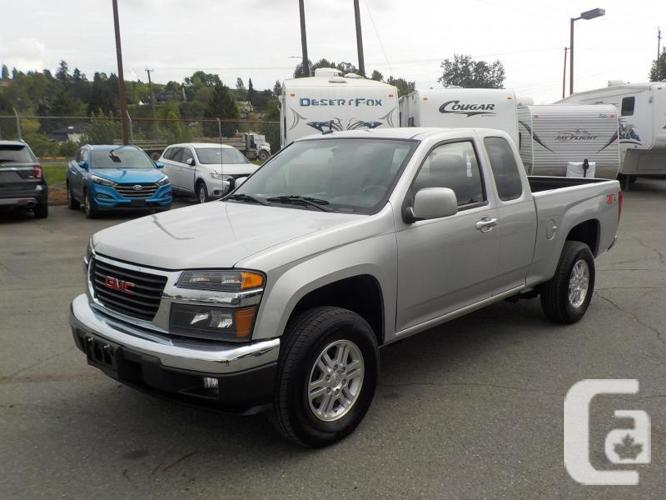 2010 gmc canyon sle extended cab regular box 4wd for sale in salmo british columbia classifieds. Black Bedroom Furniture Sets. Home Design Ideas
