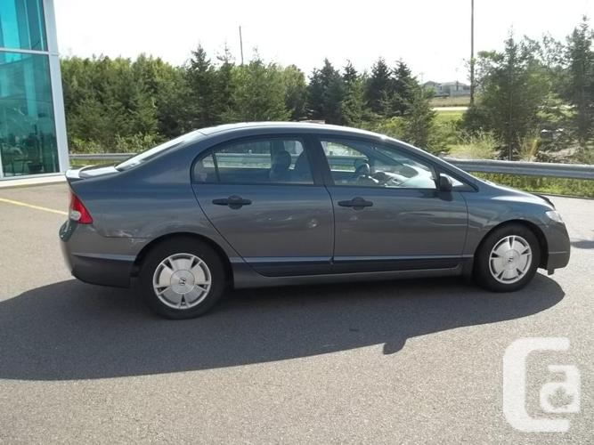2010 HONDA CIVIC DX-G AUTOMATIC ONLY 20728 KM