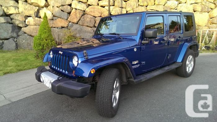 2010 jeep wrangler unlimited 4 door sahara for sale in sooke british columbia classifieds. Black Bedroom Furniture Sets. Home Design Ideas