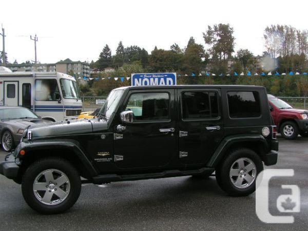 2010 JEEP WRANGLER UNLIMITED SAHARA 4 X 4 - $25970