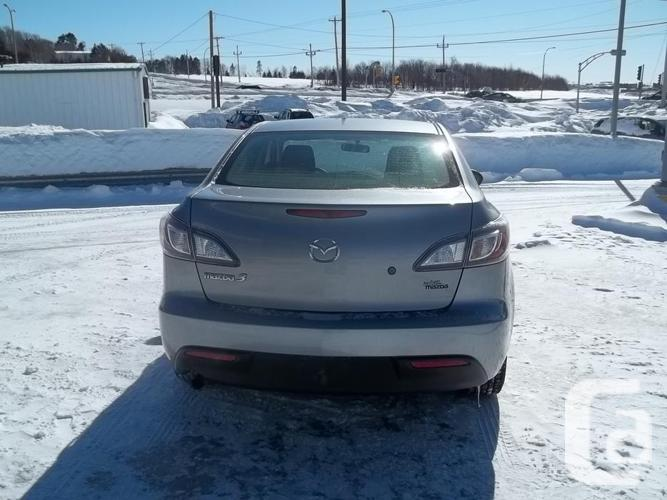 2010 MAZDA 3 GX SEDAN AUTOMATIC WITH EXTENDED WARRANTY