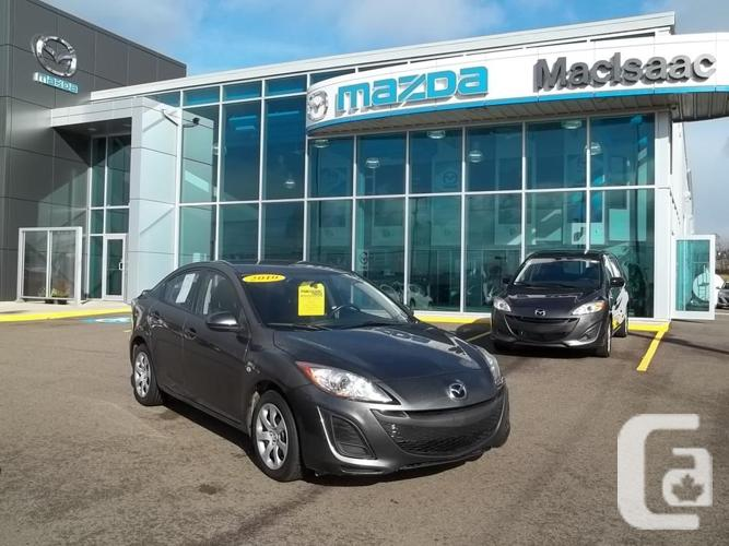2010 MAZDA 3 GX SEDAN AUTOMATIC WITH WARRANTY