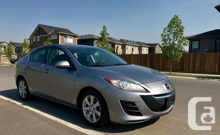 2010 Mazda3 GX Sedan - LOW KM - No Car Accidents -