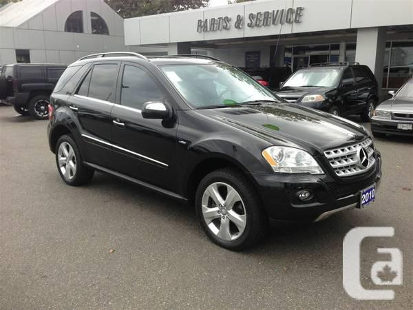 2010 mercedes benz m class ml350 bluetec 4matic suv for for 2010 mercedes benz ml350 bluetec 4matic