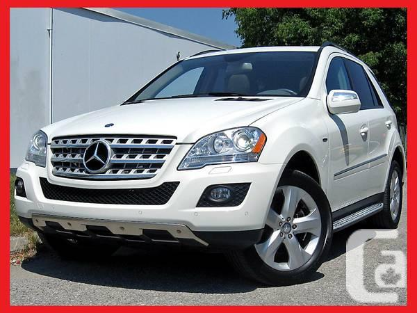 2010 mercedes benz ml350 bluetec navi mb warranty deisel for sale in toronto ontario. Black Bedroom Furniture Sets. Home Design Ideas