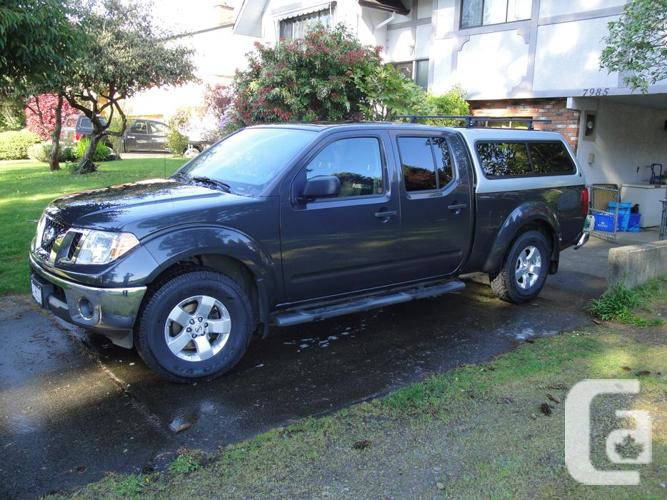 2010 nissan frontier se crew cab 4x4 for sale in saanichton british columbia classifieds. Black Bedroom Furniture Sets. Home Design Ideas