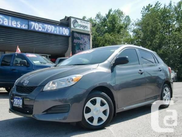 2010 toyota matrix cheap and great kms for sale in