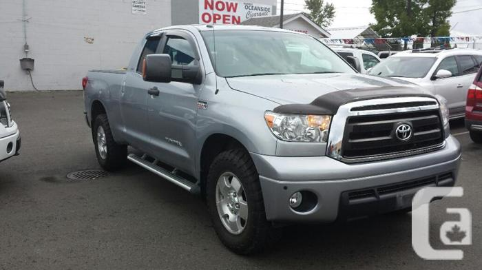 2010 used toyota tundra trd for sale in parksville for sale in parksville british columbia. Black Bedroom Furniture Sets. Home Design Ideas