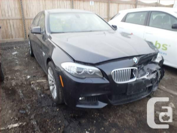 2011 Bmw 550 I Damaged For Sale In