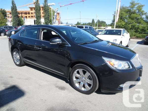 2011 buick lacrosse cxl awd fully loaded only 38 000 kms for sale in vancouver british. Black Bedroom Furniture Sets. Home Design Ideas