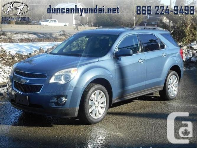 2011 chevrolet equinox 1lt bluetooth heated mirrors for sale in koksilah british columbia. Black Bedroom Furniture Sets. Home Design Ideas