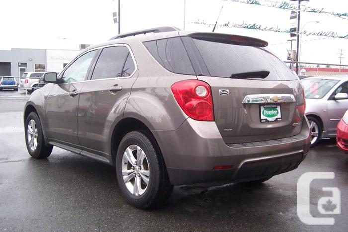2011 chevrolet equinox lt awd for sale in garden bay british columbia classifieds. Black Bedroom Furniture Sets. Home Design Ideas