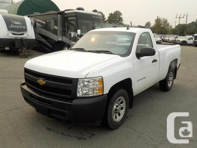 2011 Chevrolet Silverado Regular Cab 1500 Short Box 2WD