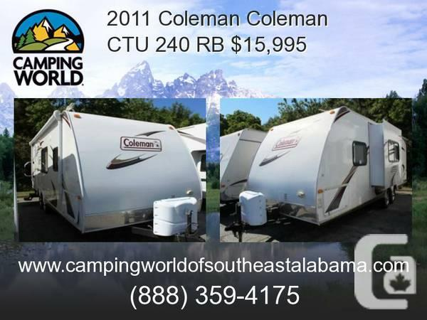 2011 Coleman Coleman CTU 240 RB, Travel Trailer -