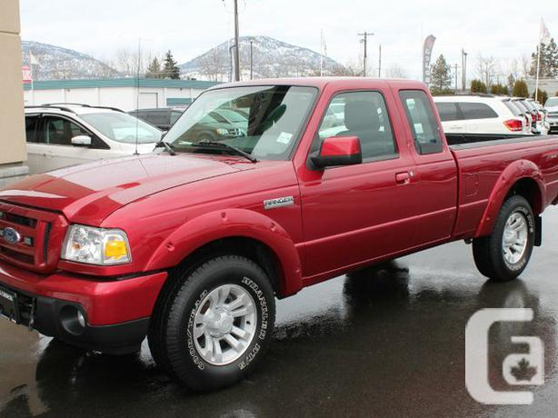 2011 ford 2011 ford ranger sport 4x4 for sale in penticton british. Cars Review. Best American Auto & Cars Review