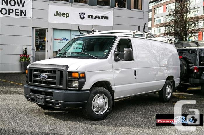 2011 FORD E-150 CARGO VAN FOR SALE;LOW KM'S;CALL