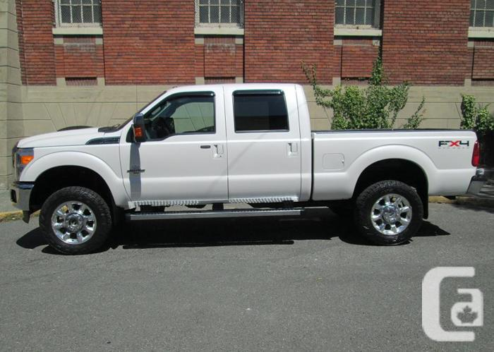 2011 ford f350 fx4 lariat super duty turbo diesel local no accidents for sale in victoria. Black Bedroom Furniture Sets. Home Design Ideas