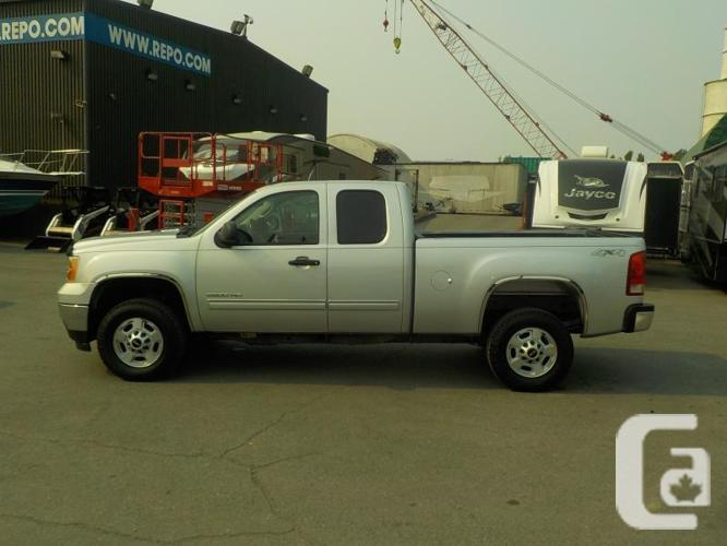 2011 Gmc Sierra 2500hd Sle Ext Cab 6 5ft Box 4wd For Sale