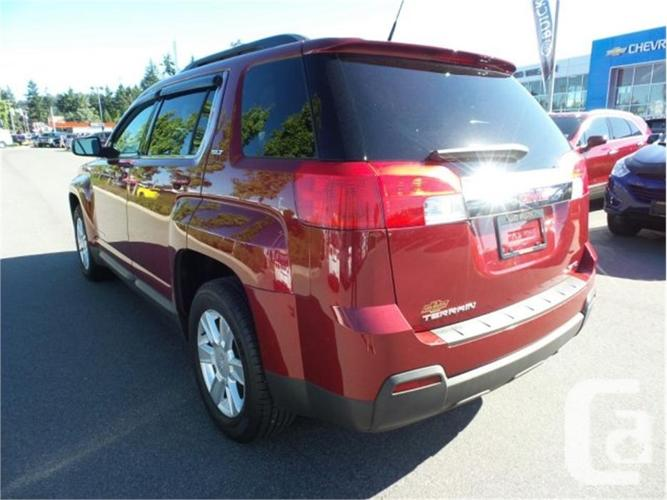 2011 gmc terrain slt 1 for sale in nanaimo british columbia classifieds. Black Bedroom Furniture Sets. Home Design Ideas