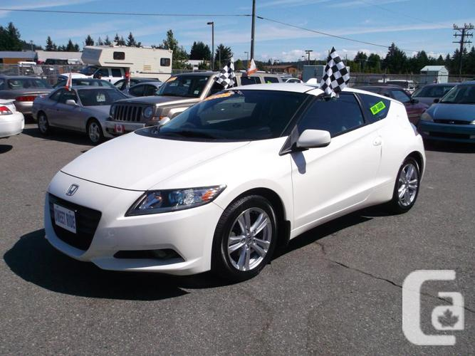 2011 honda cr z hybrid hatchback reduced price for sale in nanaimo british columbia. Black Bedroom Furniture Sets. Home Design Ideas