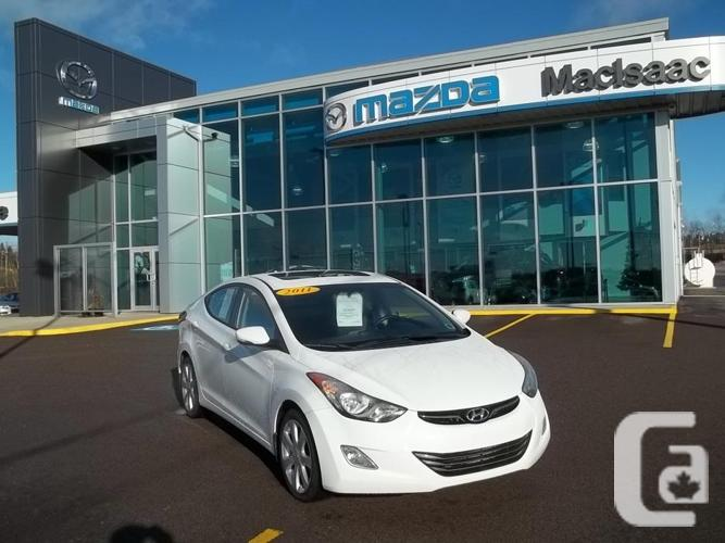 2011 Hyundai Elantra restricted full-load with leather