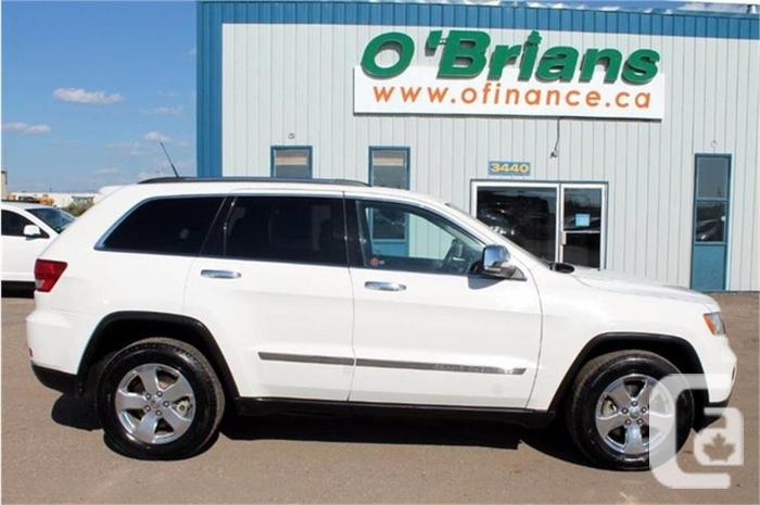 2011 Jeep Grand Cherokee Limited w/Leather, Nav