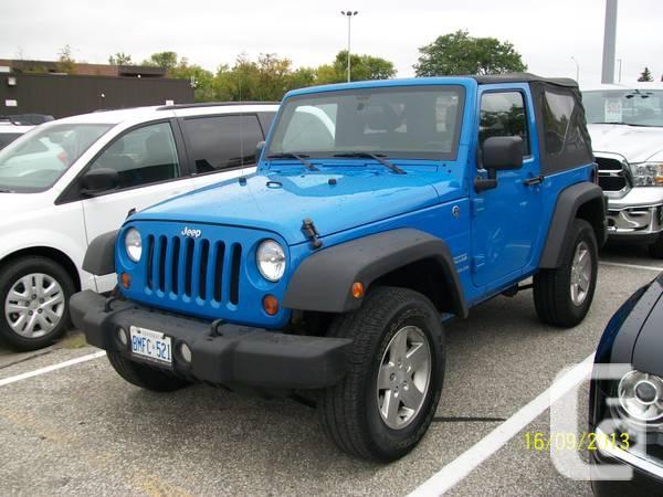 2011 Jeep Wrangler Sport For Sale In Scarborough Ontario