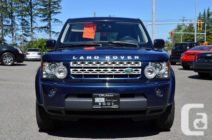 2011 Land Rover Lr4 4WD V8 - 7 Passenger !