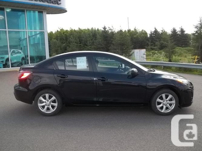 2011 MAZDA 3 GS SEDAN WITH SUNROOF AND AUTOMATIC
