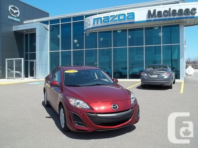 2011 MAZDA 3 GX SEDAN AUTOMATIC U818 REDUCED TO $12995