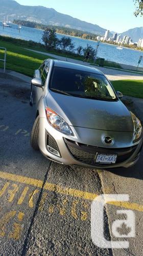 2011 Mazda 3 Sport GT 2.5L 6 speed manual
