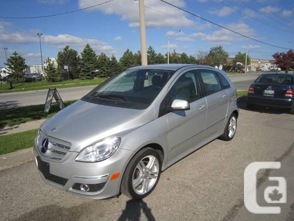 2011 MERCEDES B200 LOW-MILEAGE ACCIDENT-FREE - 995