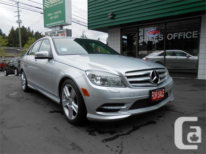2011 mercedes benz c300 4matic for sale in dewdney. Black Bedroom Furniture Sets. Home Design Ideas