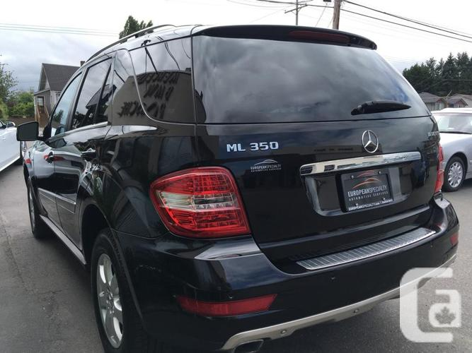 2011 Mercedes-Benz ML350 Bluetec - WITH 103,400 KMS!