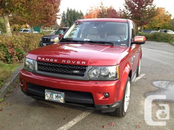 2011 Range Rover Sport HSE Luxury Pkg - $54950