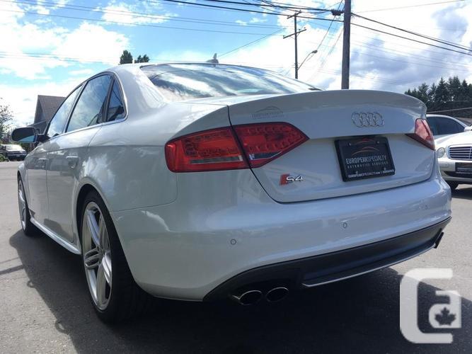2012 Audi S4 Quattro Premium - WITH 70,700 KMS!