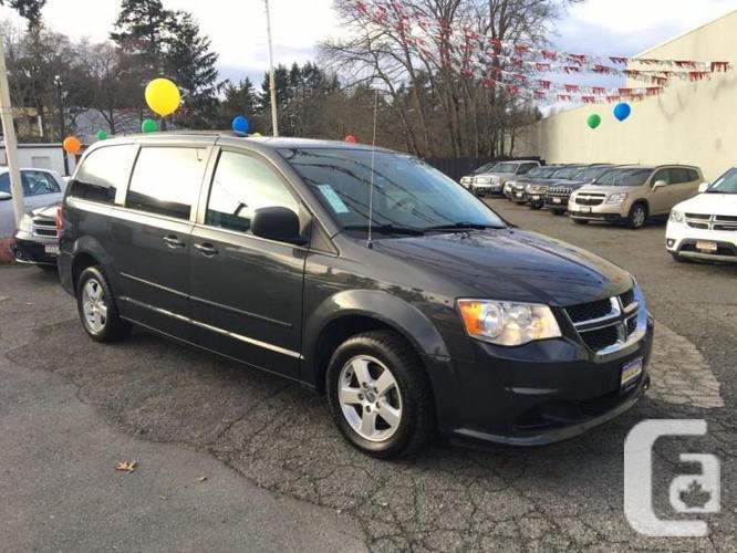 2012 Dodge Grand Caravan! Stow-N-Go! Apply Today!