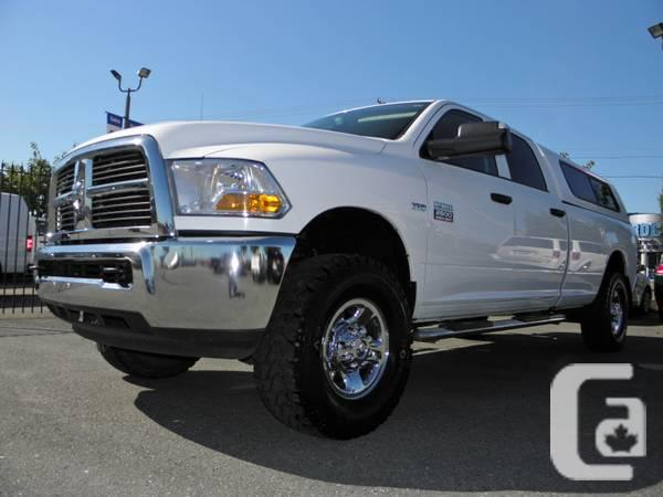 2012 dodge ram 2500 crew cab 4x4 st long box with canopy must see for sale in vancouver. Black Bedroom Furniture Sets. Home Design Ideas