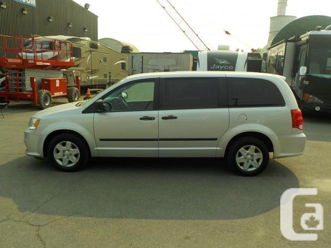 2012 Dodge RAM Caravan Cargo Van w/ Shelving