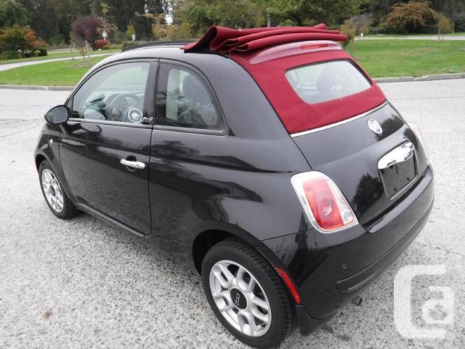2012 Fiat 500 C Pop Convertible