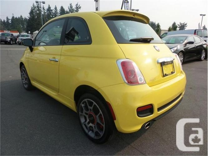 2012 fiat 500 sport for sale in nanaimo british columbia classifieds. Black Bedroom Furniture Sets. Home Design Ideas