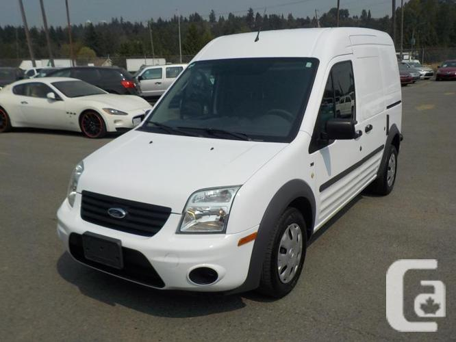 2012 Ford Transit Connect Cargo Van XLT with Bulkhead