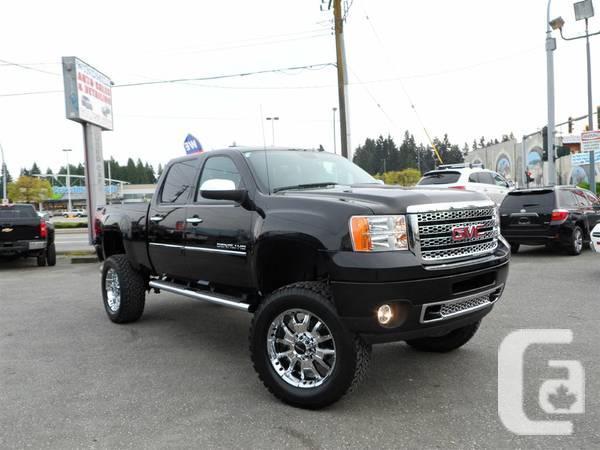 2012 GMC Sierra 2500 DENALI, DIESEL, LIFTED, FULL LOAD Truck - $64995